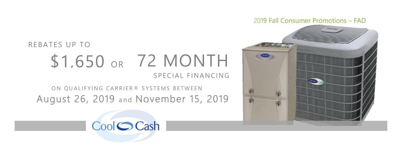 Carrier Cool Cash 2019